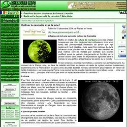 Cultiver le cannabis avec la lune !
