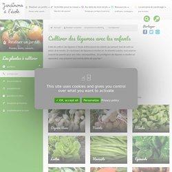 Cultiver des légumes avec les enfants