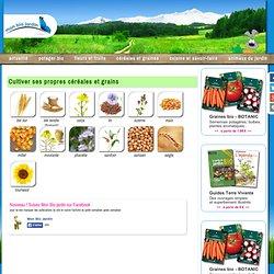 Cultiver ses propres céréales et grains