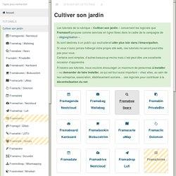 Cultiver son jardin · GitBook