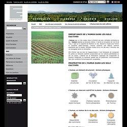 L'humus dans les sols cultivés - Groupe Frayssinet