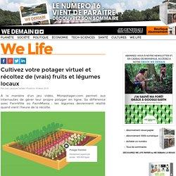 Cultivez votre potager virtuel et récoltez de (vrais) fruits et légumes locaux