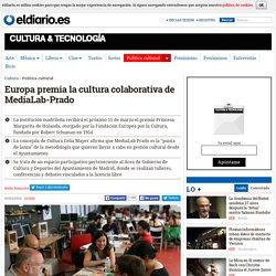 Europa premia la cultura colaborativa de MediaLab-Prado