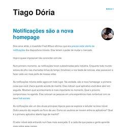 Tiago Dória Weblog