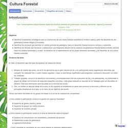 Cultura Forestal