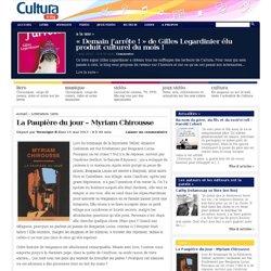 Le blog cultura » La Paupière du jour – Myriam Chirousse