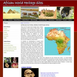 African World Heritage Sites