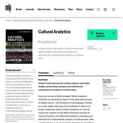 Cultural Analytics