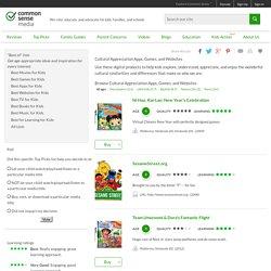 Cultural Appreciation Apps, Games, and Websites