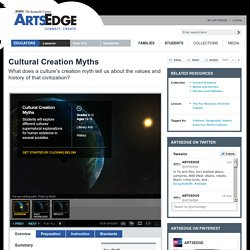 Cultural Creation Myths