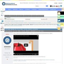 Tema: Un buen ejemplo de CV en vídeo, conciso, directo y atractivo (1/1)