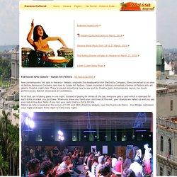 Cultural Events Havana Cuba