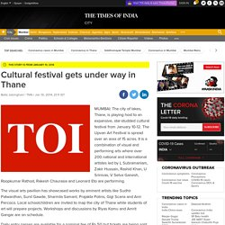 Cultural festival gets under way in Thane