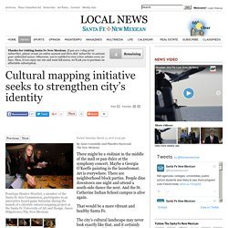 Cultural mapping initiative seeks to strengthen city's identity
