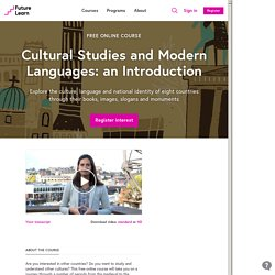 Cultural Studies and Modern Languages - University of Bristol
