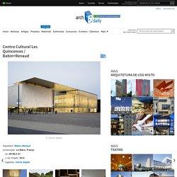 Centro Cultural Les Quinconces / Babin+Renaud