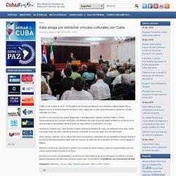 Italia aboga por estrechar vínculos culturales con Cuba