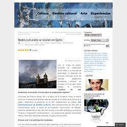 Redes culturales se reúnen en Quito «