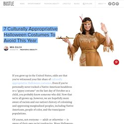 7 Culturally Appropriative Halloween Costumes To Avoid This Year