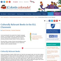 How to Assess Books for Relevance to ELLs