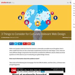 3 Things to Consider for Culturally Relevant Web Design - The Shutterstock Blog