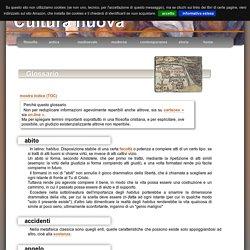 : Glossario