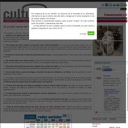 20 puntos claves de la intervención de Javier Celaya en #cmuseos