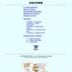 culture, activités FLE, tâches, Carnet FLE, Flenet