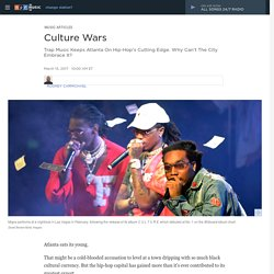 Culture Wars: Trap Music Keeps Atlanta On Hip-Hop's Cutting Edge. Why Can't The City Embrace It? : The Record