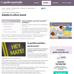 La culture australienne au quotidien