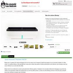 Bac de culture Biotop - Du Monde Au Balcon