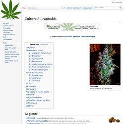 La Culture du cannabis wiki CannaWeed