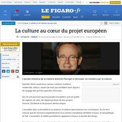 La culture au cœur du projet européen
