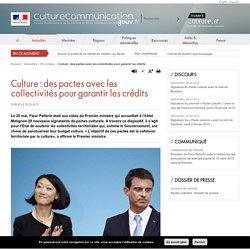 Culture : des pactes avec les collectivités pour garantir les crédits