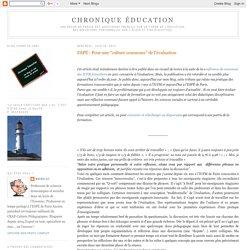 """ESPÉ : Pour une """"culture commune"""" de l'évaluation"""