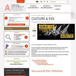 Culture & ESS - L'A. Agence culturelle du Poitou-Charentes