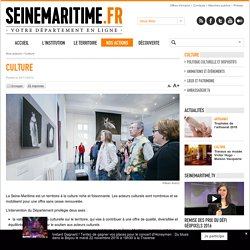 Culture - Département de la Seine-Maritime