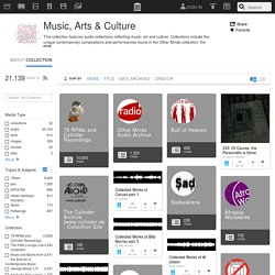 Music, Arts & Culture : Free Audio : Download & Streaming