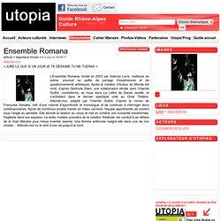Culture Rhône-Alpes - Ensemble Romana Attends-moi