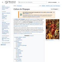 Culture de l'Espagne