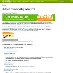 Culture Freedom Day is May 19
