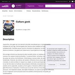 Culture geek - France Culture