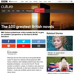 Culture - The 100 greatest British novels