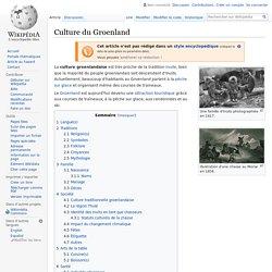 Culture du Groenland