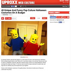 40 Unique And Funny Pop Culture Halloween Costumes On A Budget