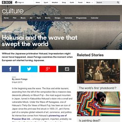 Culture - Hokusai and the wave that swept the world