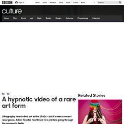 Culture - A hypnotic video of a rare art form