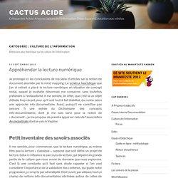 Archive for Culture de l'information