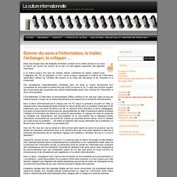 La culture informationnelle » Le concept de veille informationnelle