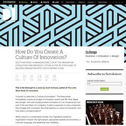 How Do You Create A Culture Of Innovation?